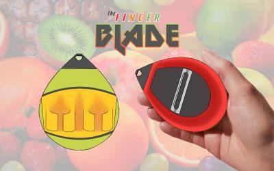 The Finger Blade – Food Peeler Tool