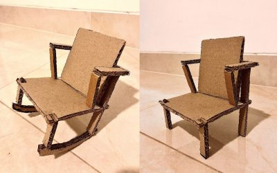 Adjustable Rocking Lounge Chair – Home Interior Design Product Using Synthetic Materials