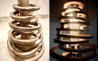 Natural Wood Chandelier Light – Home Interior Design Product Using Natural Materials