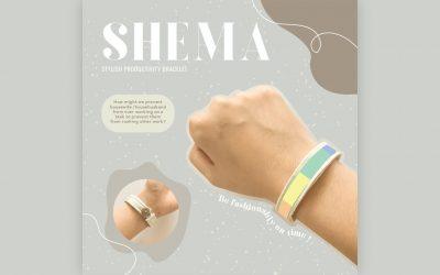 SHEMA – Stylish Productivity Bracelet