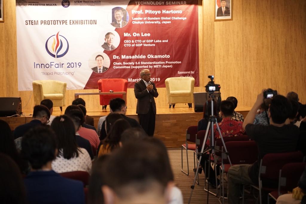 Dr Djisman Simandjuntak di Innofair 2019