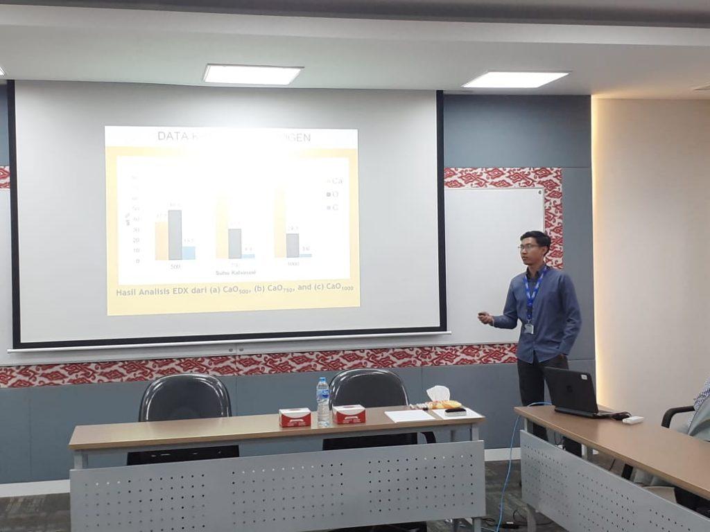 Presentasi peserta di Innovation Clinic
